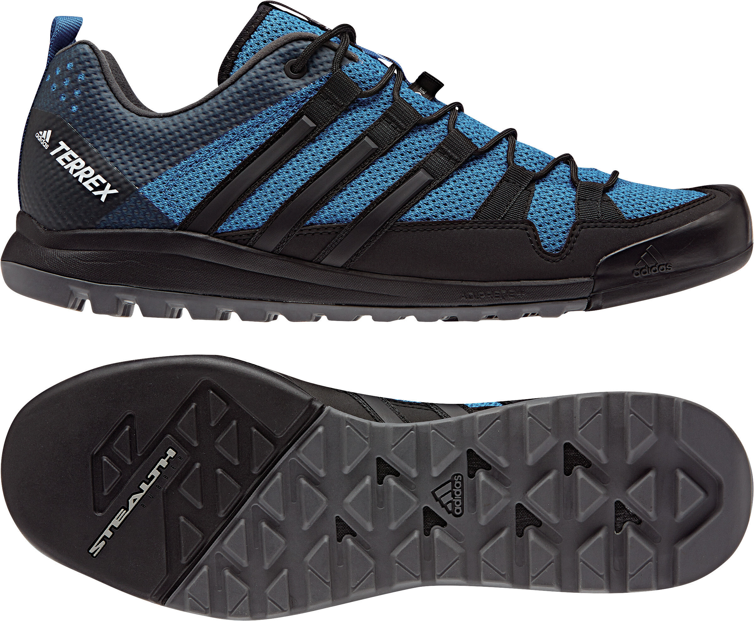 innovative design 03a0b 959ef adidas TERREX Solo - Chaussures running Homme - noir turquoise